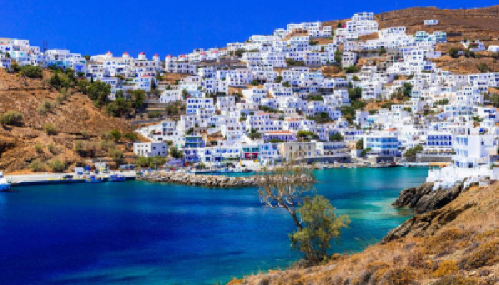 Astypalea in Condé Nast Traveler's best Greek Islands to visit in 2021!