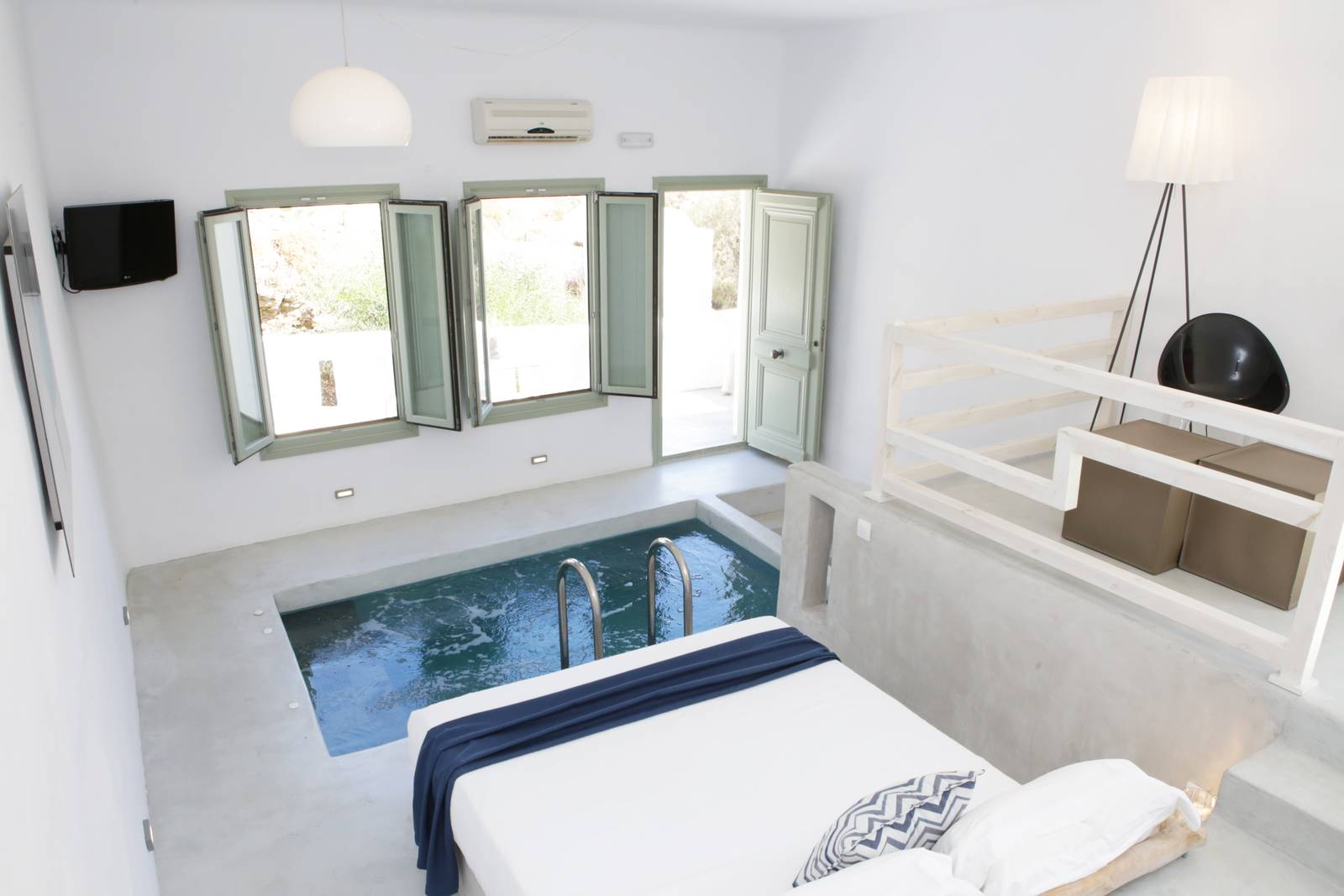 Pylaia Suite With Indoor Plunge Pool Pylaia Boutique
